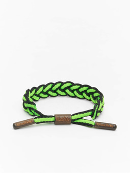 Tubelaces TubeBlet Bracelet Black/Lime