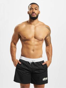 Unfair Athletics Classic Label Swim Shorts Black Swim Trunks Black