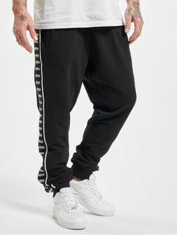 Unfair Athletics Classic Label Taped Trackpants Black