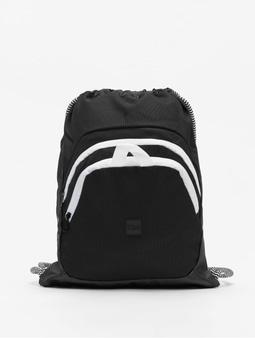 Urban Classics Ball Gym Bag Black/White