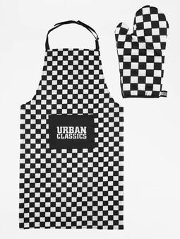 Urban Classics Barbecue Set Black/White