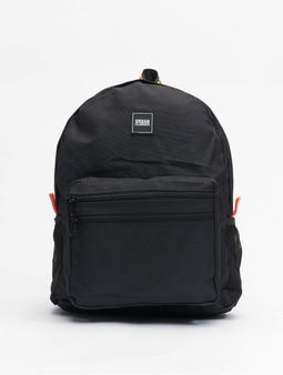 Urban Classics Basic Backpack Black/Orange