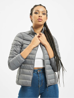 Urban Classics Basic Down Jacket Dark Grey