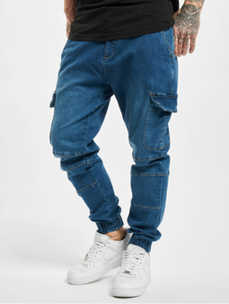 Urban Classics Cargo Sweat Pants Rinsed Wash