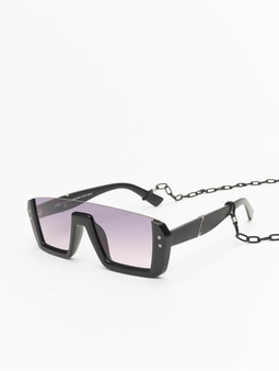 Urban Classics Chain Sunglasses Future Sunglasses 106 Black/Black