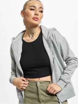 Urban Classics Classic Zip Hoody Grey