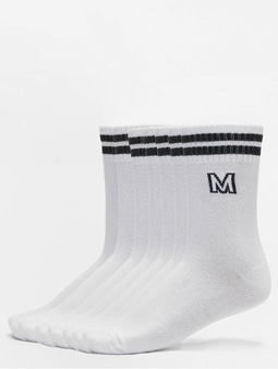 Urban Classics College Letter Socks 7-Pack Socks White