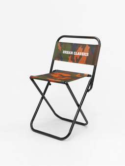 Urban Classics Camping Chair Neonorange Camo