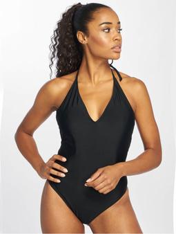 Urban Classics Deep Neck Swimsuit Black