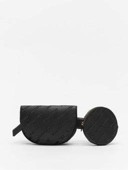 Urban Classics Double Beltbag Black