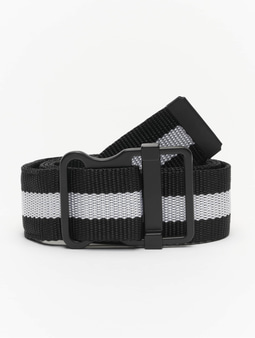 Urban Classics Easy With Stripes Belt Black/White