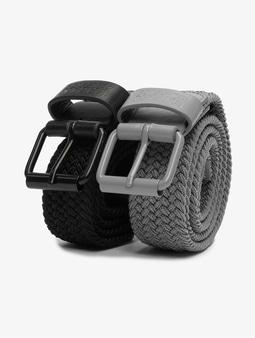 Urban Classics Elastic Belt Black/Grey