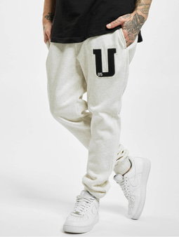 Urban Classics Frottee Patch Sweat Pants Lightgrey
