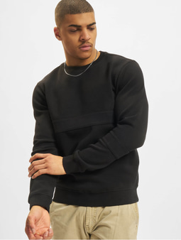 Urban Classics Heavy Pique Sweatshirt Black