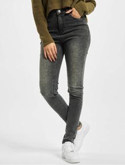 Urban Classics Ladies Skinny High Waist Jeans White
