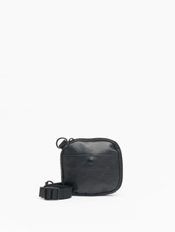 Urban Classics Imitation Leather Festival Bag Black