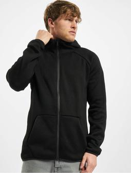 Urban Classics Knit Fleece Zip Hoody Black