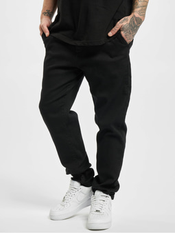 Urban Classics Knitted Chino Slim Fit Jeans Black