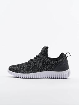 Urban Classics Knitted Light Runner Sneakers Black/Grey/White