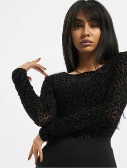 Urban Classics Ladies Flock Lace Body Black