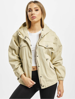 Urban Classics Ladies Oversized Coat Concrete