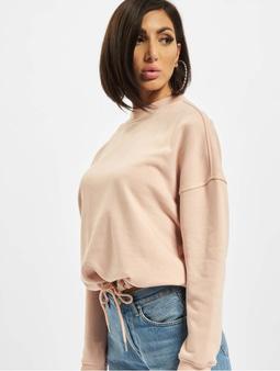 Urban Classics Ladies Oversized Sweatshirt Light Rose