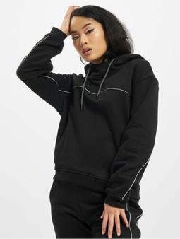 Urban Classics Ladies Reflective Hoody Black