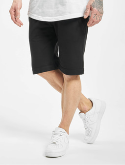 Urban Classics Light Turnup Sweat Shorts Black