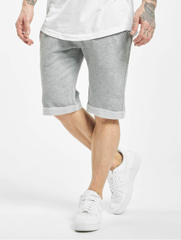 Urban Classics Light Turnup Sweat Shorts Grey