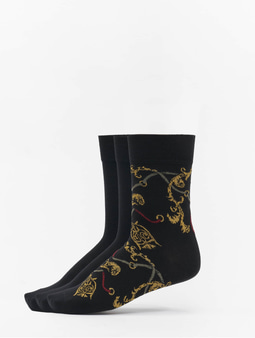 Urban Classics Luxury Set Socks Black