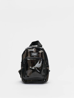 Urban Classics Mini Backpack Transparent Black