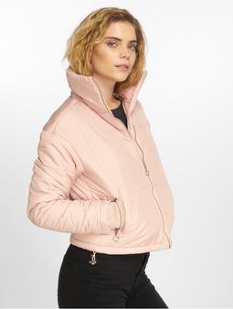 Urban Classics Oversized High Neck Jacket White