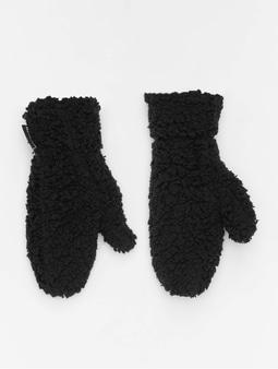 Urban Classics Sherpa Gloves Black