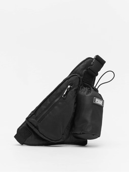 Urban Classics Shoulderbag With Can Holder Black