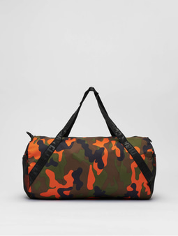 Urban Classics Sports Bag Woodland Camo