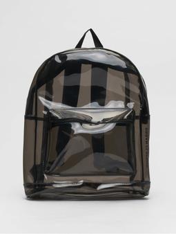 Urban Classics Transparent Backpack Transparent/Black