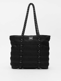 Urban Classics Worker Shopper Bag Black