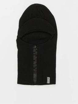 Urban Classics Zipped Visor Beanie Black