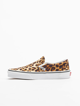 Vans Ua Classic Slip-On Sneakers (leopard) Black/Truewhite