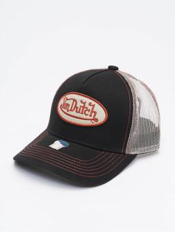 Von Dutch Og Trucker Cap Black/Stone