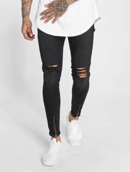 Vsct Clubwear Keanu Antifit Jeans Black Rinsed