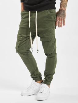 VSCT Clubwear Noah Cargo Cuffed Cool Khaki Antifit Jeans Khaki