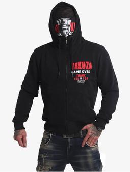 Yakuza Game Over Ninja Zip Hoody Black