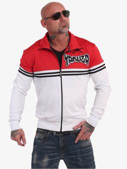 Yakuza Toxin Sweatshirt White/Rot