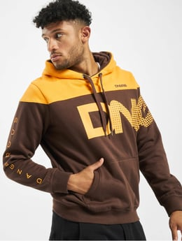Dangerous DNGRS Herren Hoody Half Crown & King in schwarz 598008