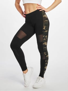DEF Bukser LeggingsTreggings Luna i sort 439733