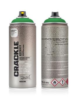 Montana Spraydosen CRACKLE Effect 400ml EC 6000 Patina Green grün