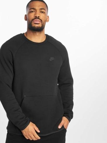 eed8ee6eac848 Nike T-Shirt manches longues Sportswear Tech Fleece Longsleeve noir