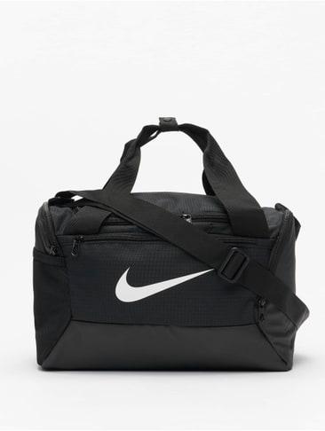 Nike Trainingstasche Brasilia Small Sporttasche Tragetasche Grün//Schwarz Neu