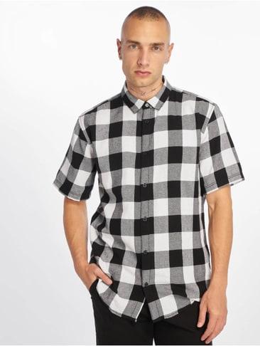 Zwart Wit Geruit Overhemd.Geruite Hemden Shoppen Bij Defshop Met Laagste Prijsgarantie